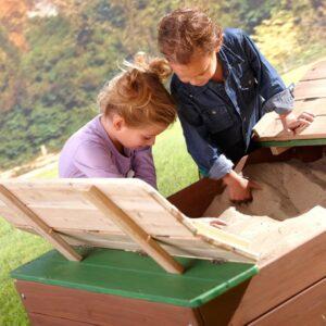 caja de arena infantil