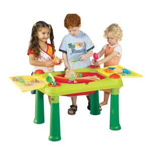 mesa de actividad de arena y agua