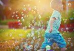 machine à bulles jardin