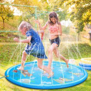 tapis de jeu à eau
