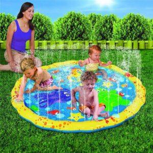 tapis de jeu jet d'eau