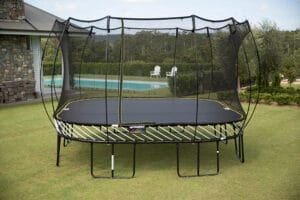 trampoline solide