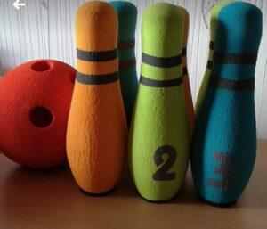 bowling pour enfant en mousse