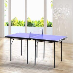 pequeña mesa de ping pong