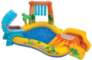aire de jeux piscine dinosaure
