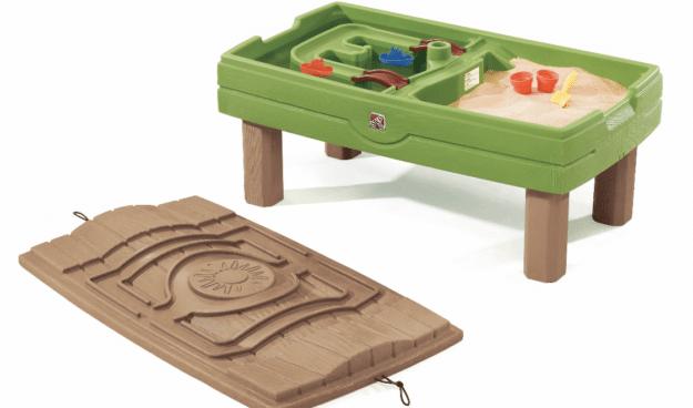 table d'activités sable et eau