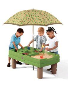 table sable et eau pour enfant